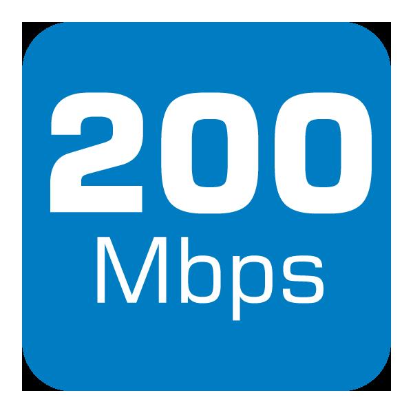 200 Mbps Fibre