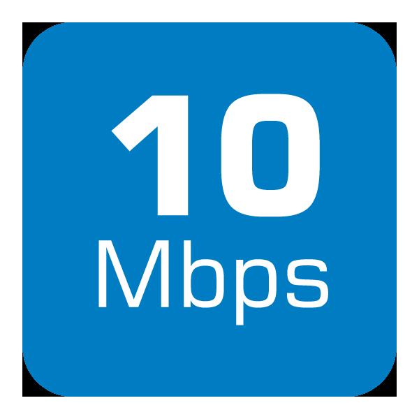 10 Mbps