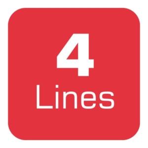 Uncapped Voice 4 Lines