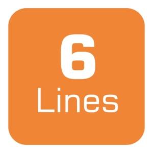 Uncapped Voice 6 Lines