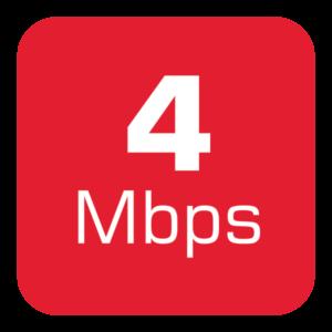 4 Mbps